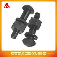 Fabricantes chineses de aço inoxidável ou parafusos e porcas de aço carbono podem ser personalizados