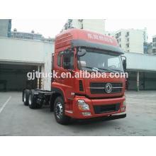 Camión de cabeza del tractor de Dongfeng 6x4 para remolcar remolques