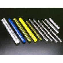 Tiges acryliques de couleur différente