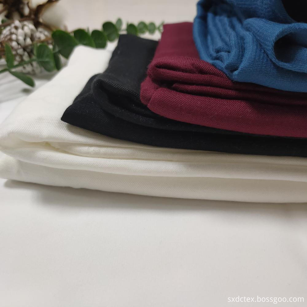 Brethable Viscose RayonTwill Solid Fabric