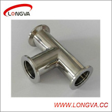 Sanitary Stainless Steel Vacuum Clamp Tee