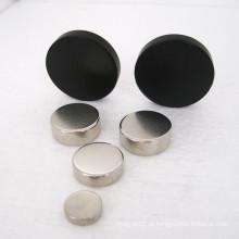 Vários ímãs de neodímio de disco de tamanho