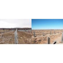 Ingeniería solar off / on grid sistema de energía solar tipo de soporte de montaje montar las piezas