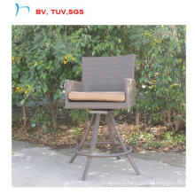 Garden Rattan High Bar Chair Can 360 Rotate (CF1458)