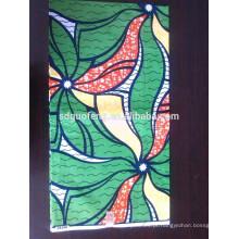 Especial bule pavão design de alta qualidade 100% algodão tecido cera impressa para africano