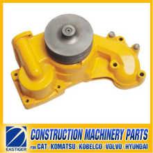 6222-63-1200 Bomba de agua S6d108 Komatsu Construction Machinery Piezas de motor