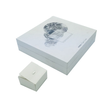 Lip paper gift box with insert