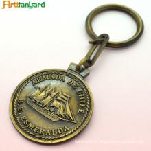 Porte-clés Logo personnalisé pour les cadeaux