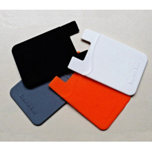 Promotional Hot Silicone Card Holder for Mobile