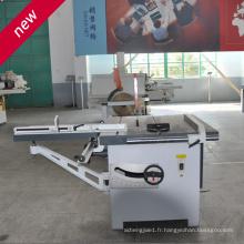Longueur de travail 3,2 m Machine de scie à table coulissante Scie à panneaux Machines à bois