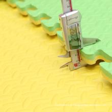 Padrão de Folha de Cor Verde 1mX1m Taekwondo Tatami mat