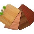 Panneau composite en aluminium de conception de texture de bois rigide pour le mur d'intérieur