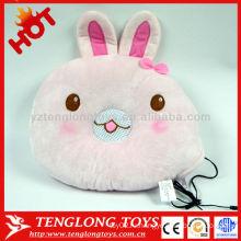 ГОРЯЧИЕ ПРОДАЖИ мягкой помощи спать прекрасный розовый кролик спикер подушку