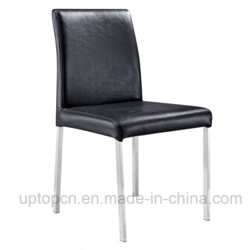 Wholesale Event Banquet Dining Room Black Leather Chair (SP-LC242)