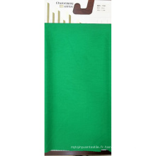 Tissu en polyester rincé en tressage