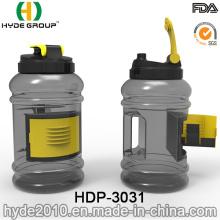 2.5L BPA Free PETG Plastic Sports Shaker Water Bottle (HDP-3031)