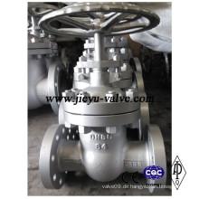 Pn63 / 64 Dn80 Nicht steigender Stiel Kohlenstoffstahl Schieberventil