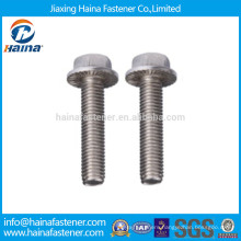 Stainless Steel Serrated Hex Flange Bolts