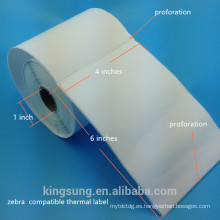 etiqueta engomada de etiqueta de dirección de papel de venta caliente del paquete Shanghai Pely