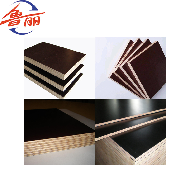 Black Brown Color Film Faced Plywood