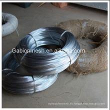 Alambre de hierro galvanizado electro galvanizado de la alta calidad / alambre galvanizado caliente del hierro