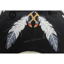 Nuevo bordado de Dreamcather del estilo de la pluma de la nación de la manera para la ropa y el sombrero