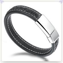 Leder Armband Leder Schmuck für Charme Schmuck (LB428)
