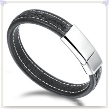 Leather Bracelet Leather Jewelry for Charm Jewelry (LB428)