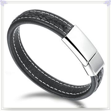 Leather Bracelet Leather Jewelry for Charm Jewelry (LB428)