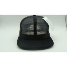Customed Fashion Black Blank PU Metal Caps (ACEK0075)