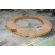 Forging plate flange