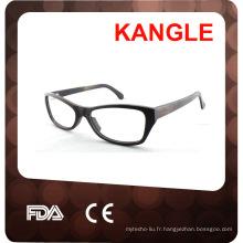 verres optiques en bois fabriqués à la main de haute qualité