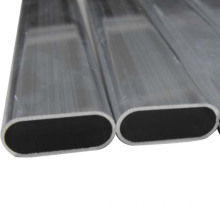 Oval Round Aluminium Alloy Extruded Tube