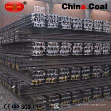 Grosses soldes! Rail en acier léger de 22 kg avec éclisses