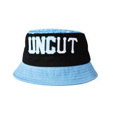 Gewaschener Segeltuch-Baumwollsonne-Wannen-Hut mit kundengebundenem Entwurf (U0057)