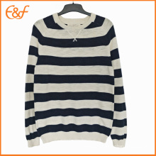Two Colors Striped Knitted Jumpers Online For Men