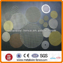 galvanized crimp steel weave wire mesh