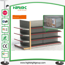 Supermarket Metal Display Rack Shelving Rack