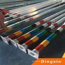 2016 China Außenbeleuchtung konische Pulverbeschichtet Stahl Pole