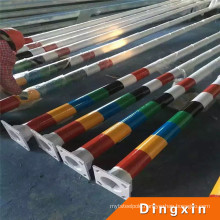 2016 China Outdoor Lighting Tapered Powder Coated Steel Pole