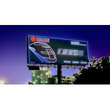 Carretera que hace publicidad de la caja de luz iluminada delgada lateral o de aluminio del acero inoxidable LED