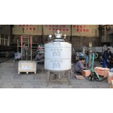 50L 100L 200L acero inoxidable leche por lotes pasteurización tanque / máquina de pasteurización equipos para la venta