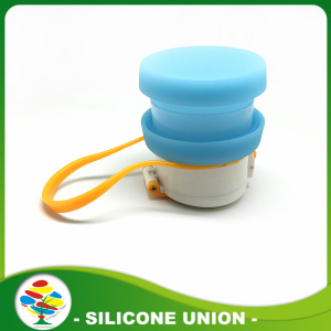 Silicone Drinking Water Bottle Foldable