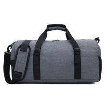 Polyester Sports Oem Logo Custom Duffel Traveling Bag Set Travelling Bag For Men with Shoulder Strap