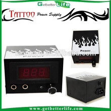 Getbetterlife LCD Dual Digital White Fire CE Best Tattoo Power Supply