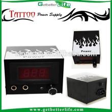 Fonte de alimentação do Getbetterlife Dual LCD Digital fogo branco CE melhor tatuagem