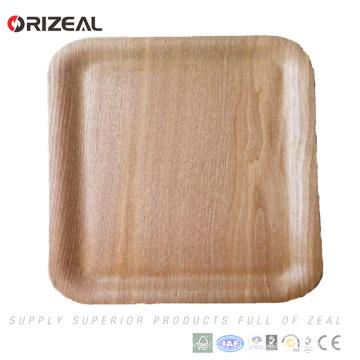 Bent Sperrholz Tablett gebogen Holz Serviertablett shabby chic Holz Serviertablett