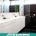 Armoires de salle de bains murales laquées blanches pour la maison (AIS-B021)