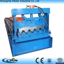 Manufacturer steel structure metal deck roll forming machine steel floor decking cold roll former machinery