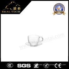 Conjunto de vidro de forma irregular para restaurante / café / escritório / casa